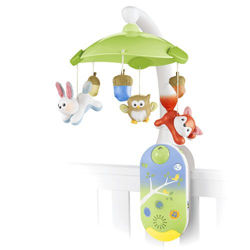 Smart Connect 2 In 1 Projection Mobile Calming Musicfisher Pricebaby Itemsbaby Thingscolour Lightwoodland Nurserythe