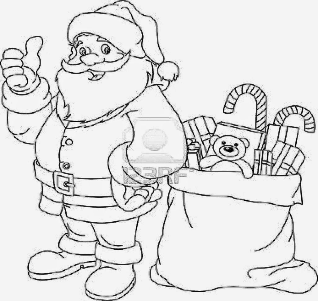 Santa Claus Coloring Pages Printable Coloring Pages For