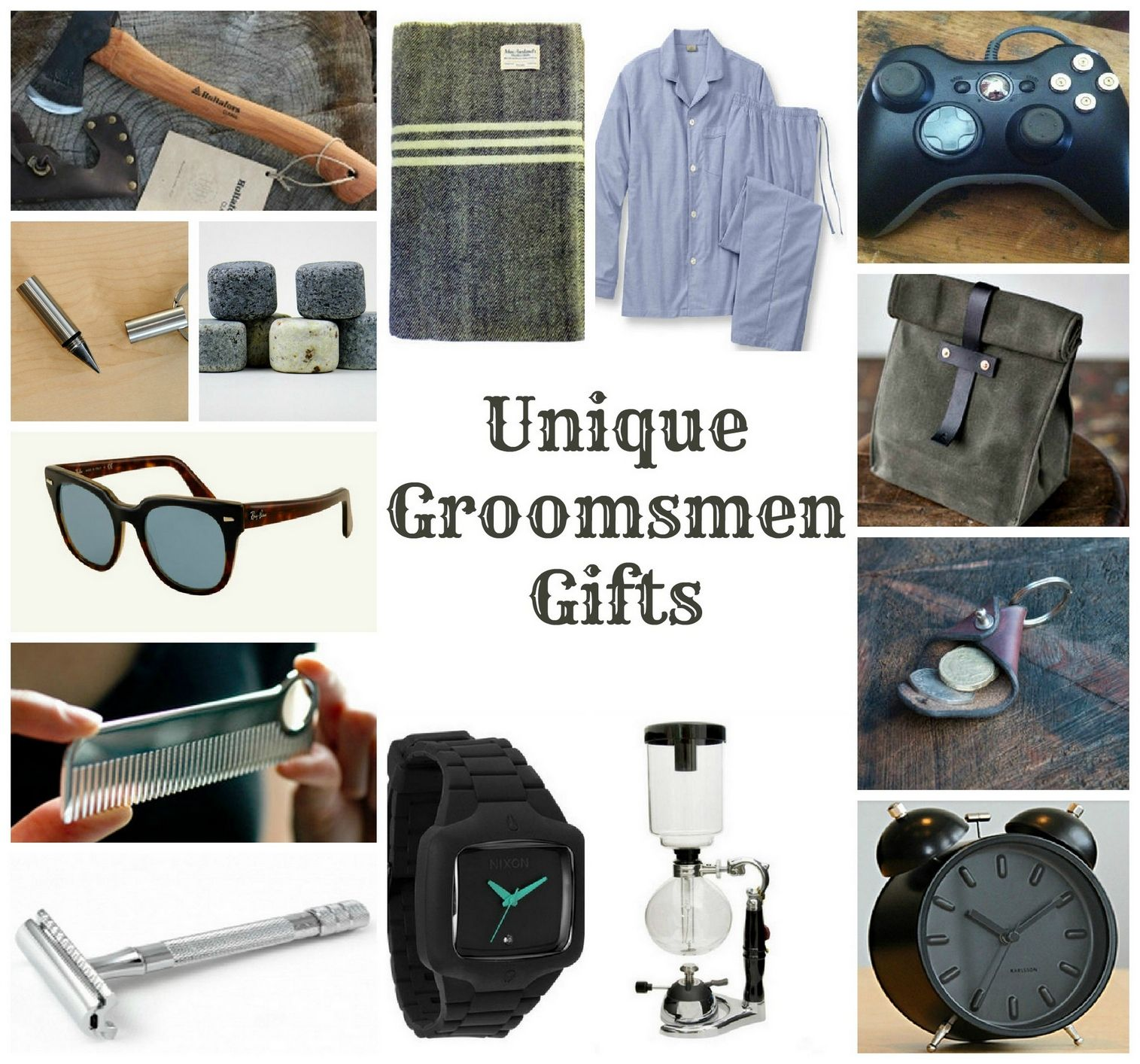 Unique Groomsmen Gifts Ideas | Bridal parties and Weddings