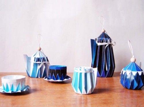 Paper Tea Cups #1 | Paper tea cups, Tea diy, Diy paper | 374x500