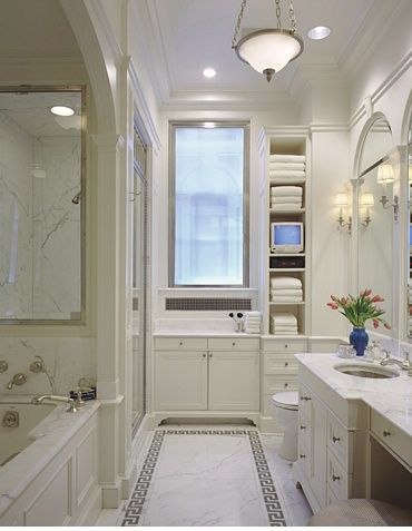 find this pin and more on master bathroom. long narrow