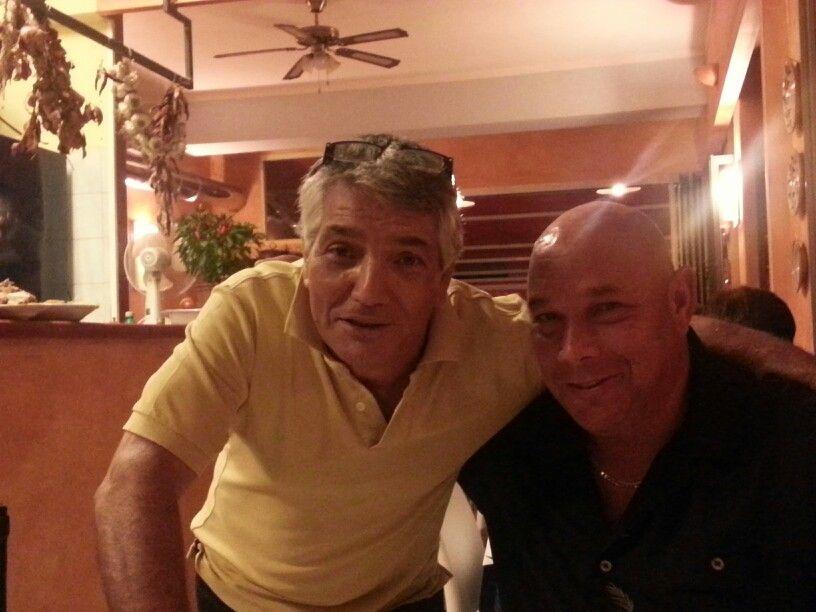Antonio and Michael at L'Incontro in Taormina, Sicily September 2013