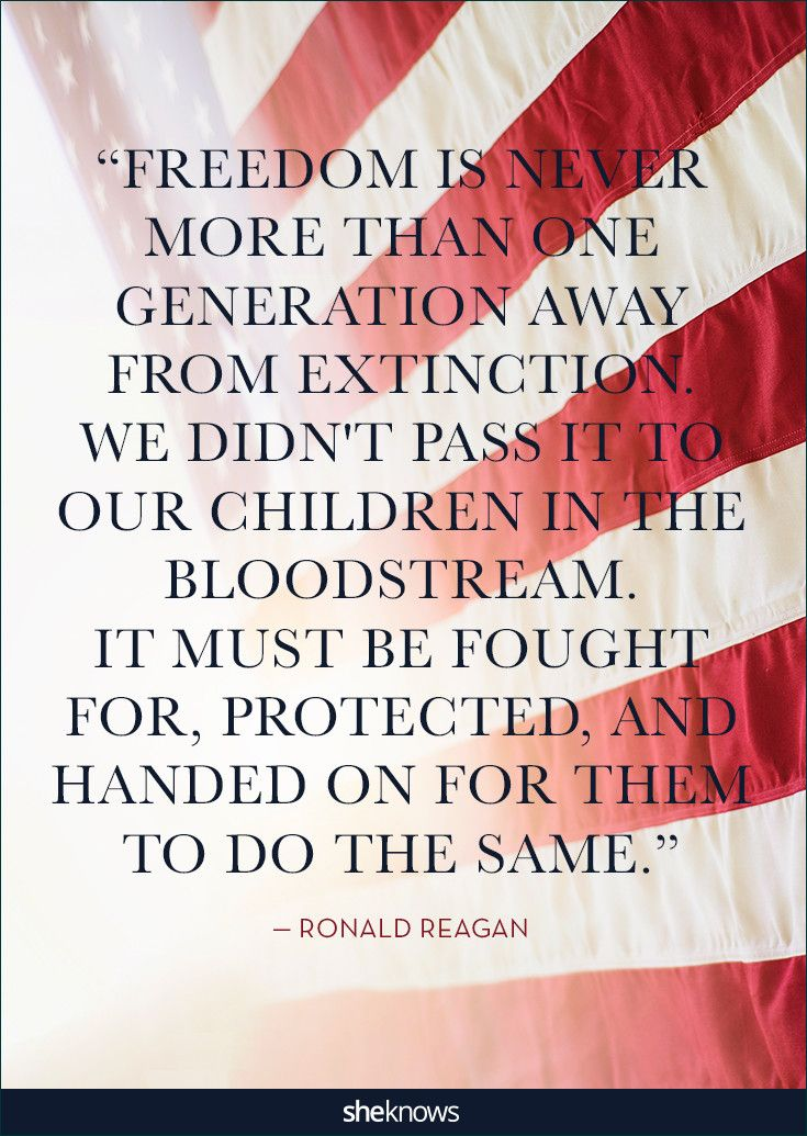 25 Patriotic Quotes That Will Make You Proud Of America Red