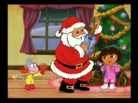 Dora et le p re noel chante joyeux videos for french class pinterest noel french - Oui oui et le pere noel ...