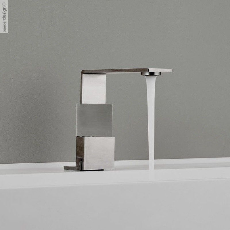 Treemme 2-Griff-Waschtischmischer 5mm   Design OCO Studio   superflacher Auslauf