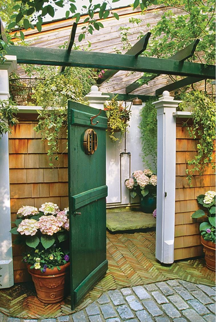 It S A Plus To Be Able Close Door And Make An Outdoor Shower Truly