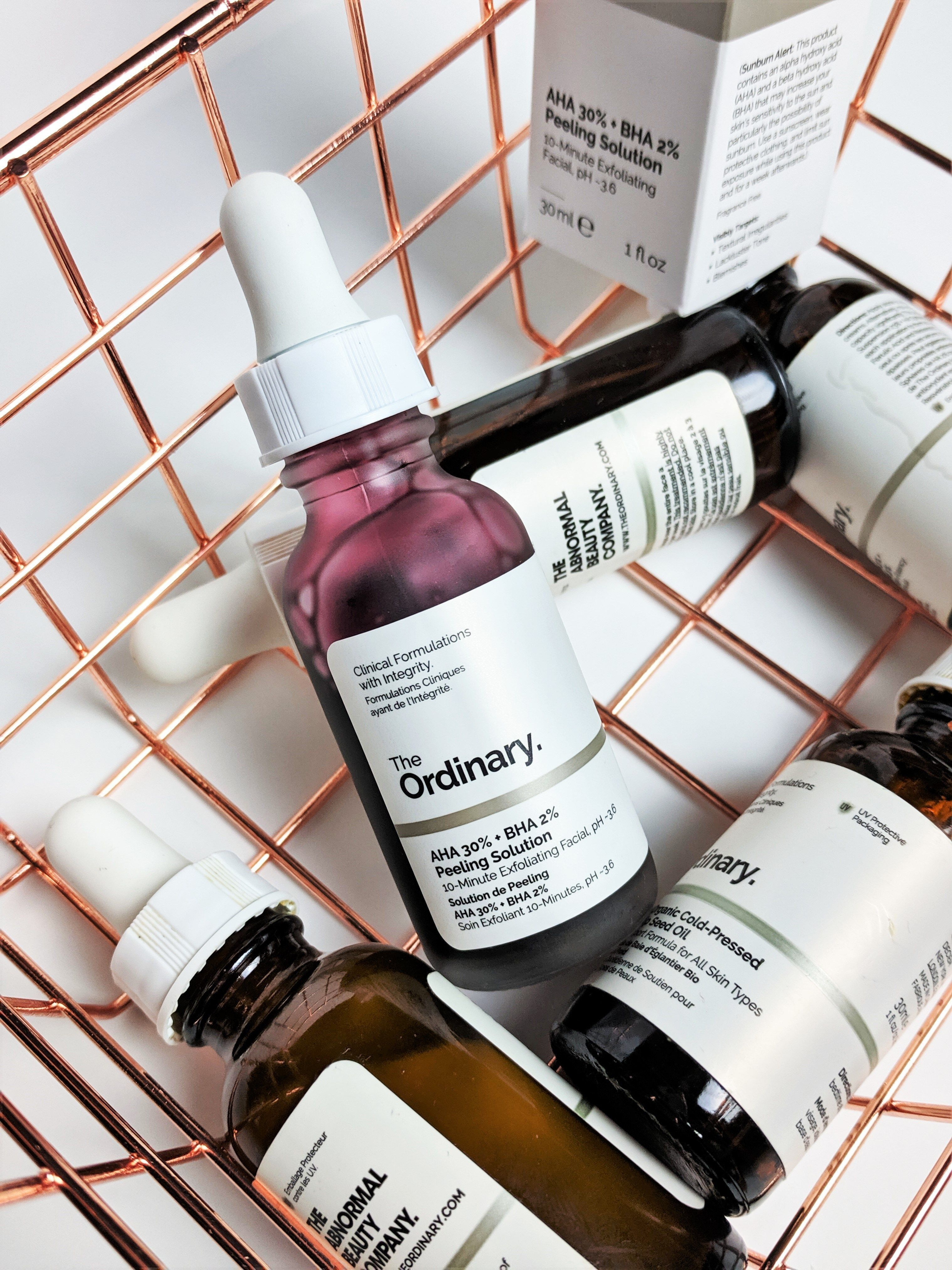 Skincare Routines Facial Peel Skin Care Solutions The Ordinary Aha 30