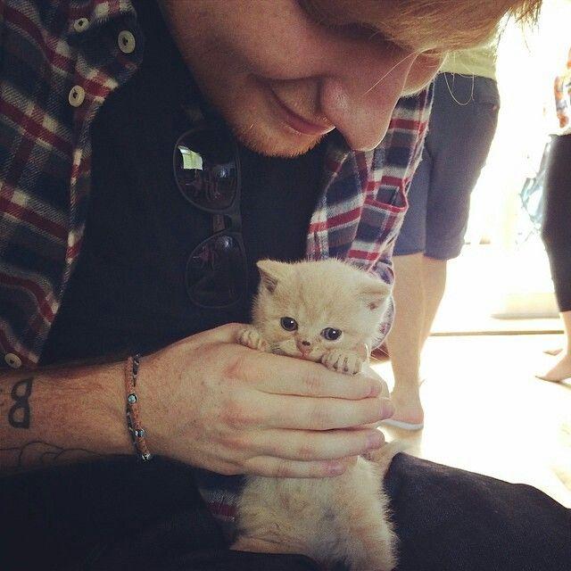 Ed Sheeran hanging out wih Boris :)