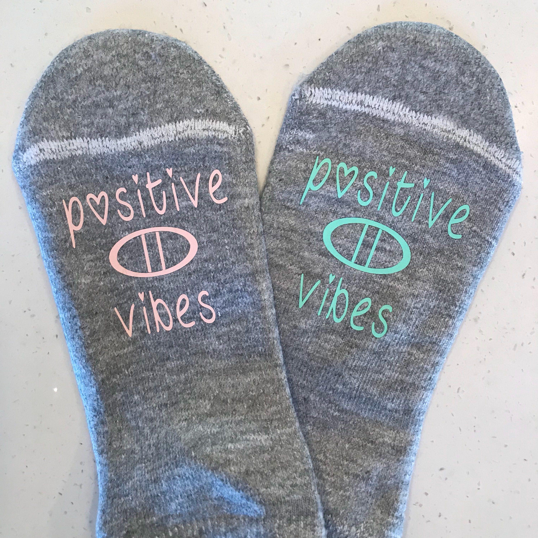 Fertility Socks motivational ivf socks pupo TTC Socks IVF egg retrieval day ivf egg transfer IVF Socks positive thinking ivf gift