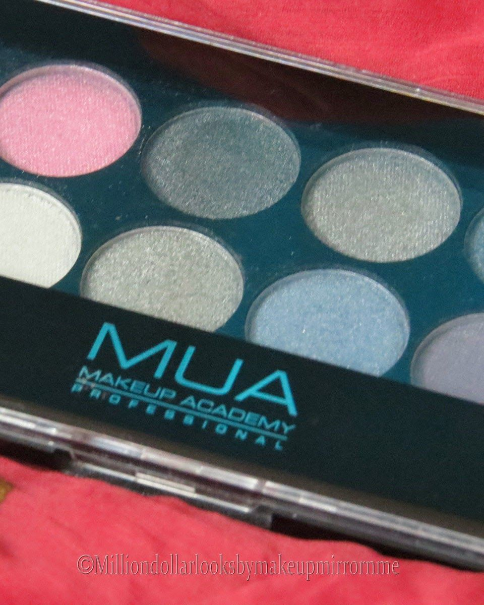 MUA Eyeshadow Palette Starry night review, pictures