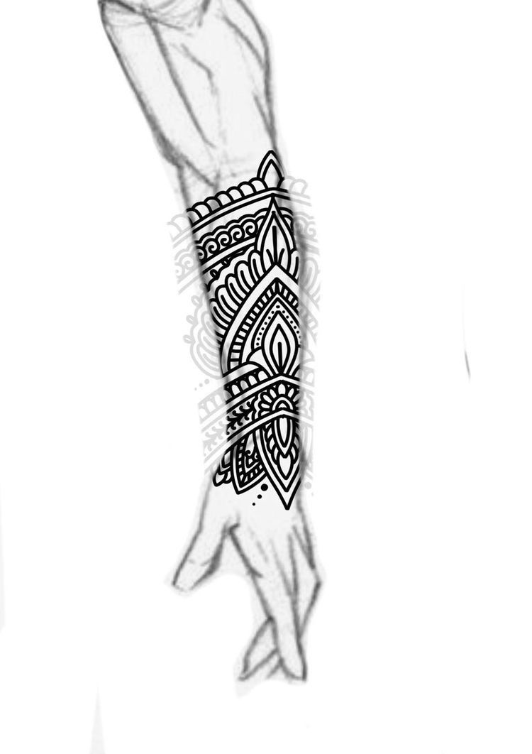 b86565d70 Forearm Mandala Tattoo, Maori Tattoo Arm, Forearm Sleeve, Dragon Tattoo Arm,  Mandala