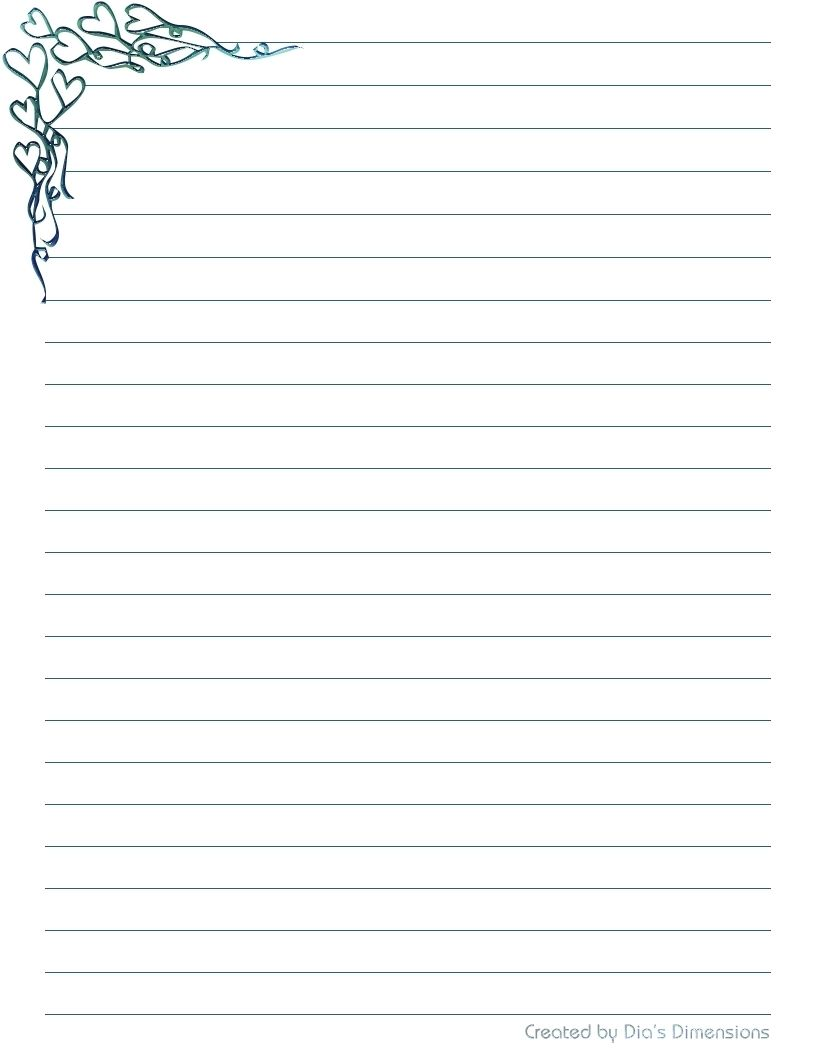 Free Printable Lined Stationery Paper Black And White Diy Stationery Paper Printable Stationery Free Printable Stationery Letter writing paper free printable