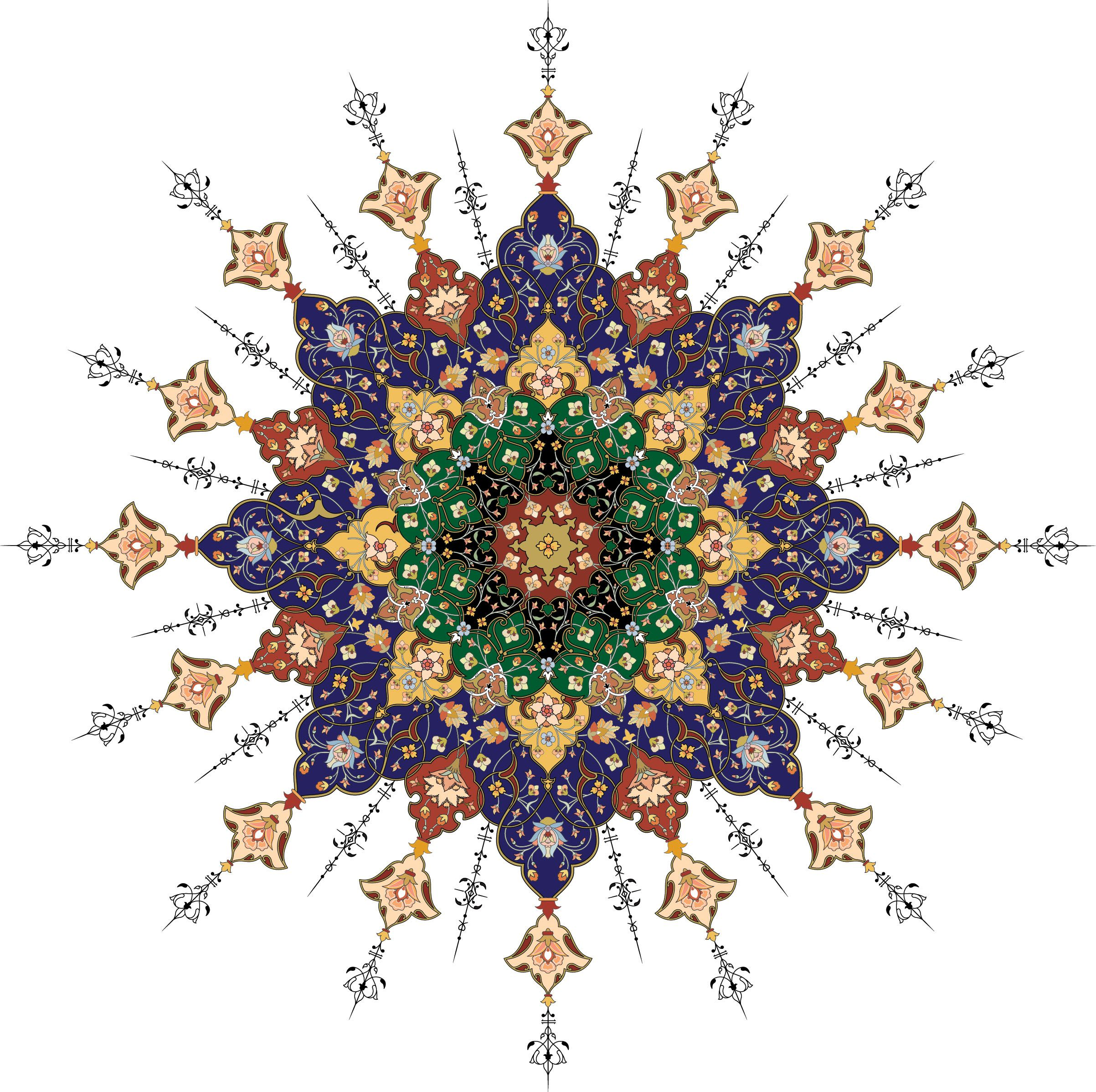 Persian Patterns: Category: Islamic Persian Pattern