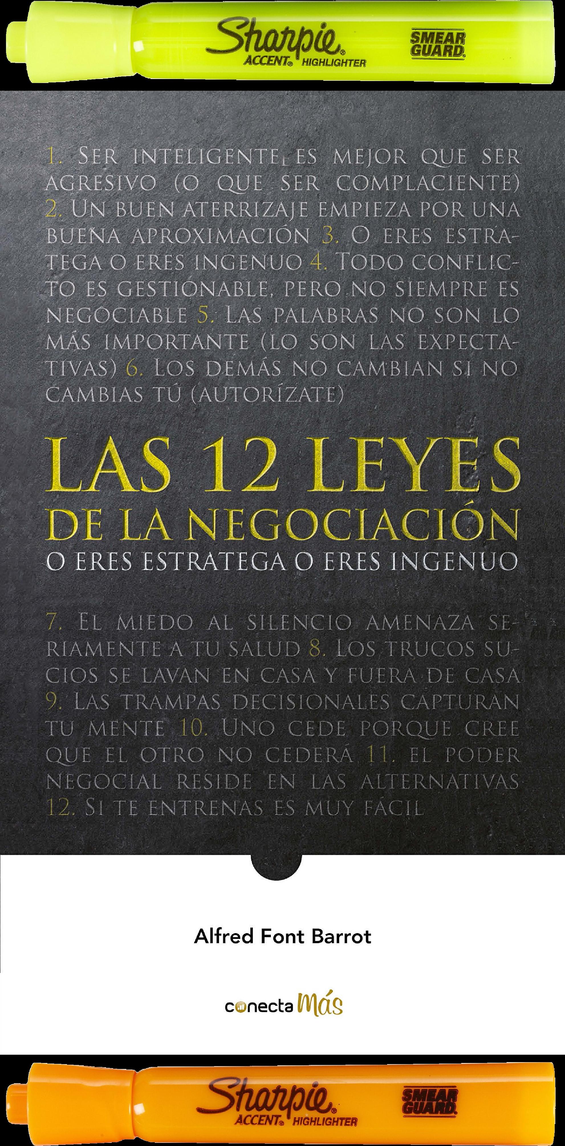 Las 12 Leyes De La Negociación Alfred Font Barrot Libros De Motivación Libros De Negocios Consejos De Finanzas