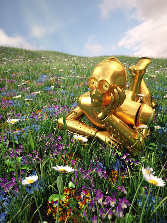 Daydreaming C-3PO