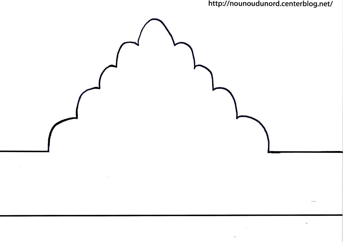 couronne d corer avec des gommettes plus d 39 autres mod les imprimer sur mon lien http. Black Bedroom Furniture Sets. Home Design Ideas