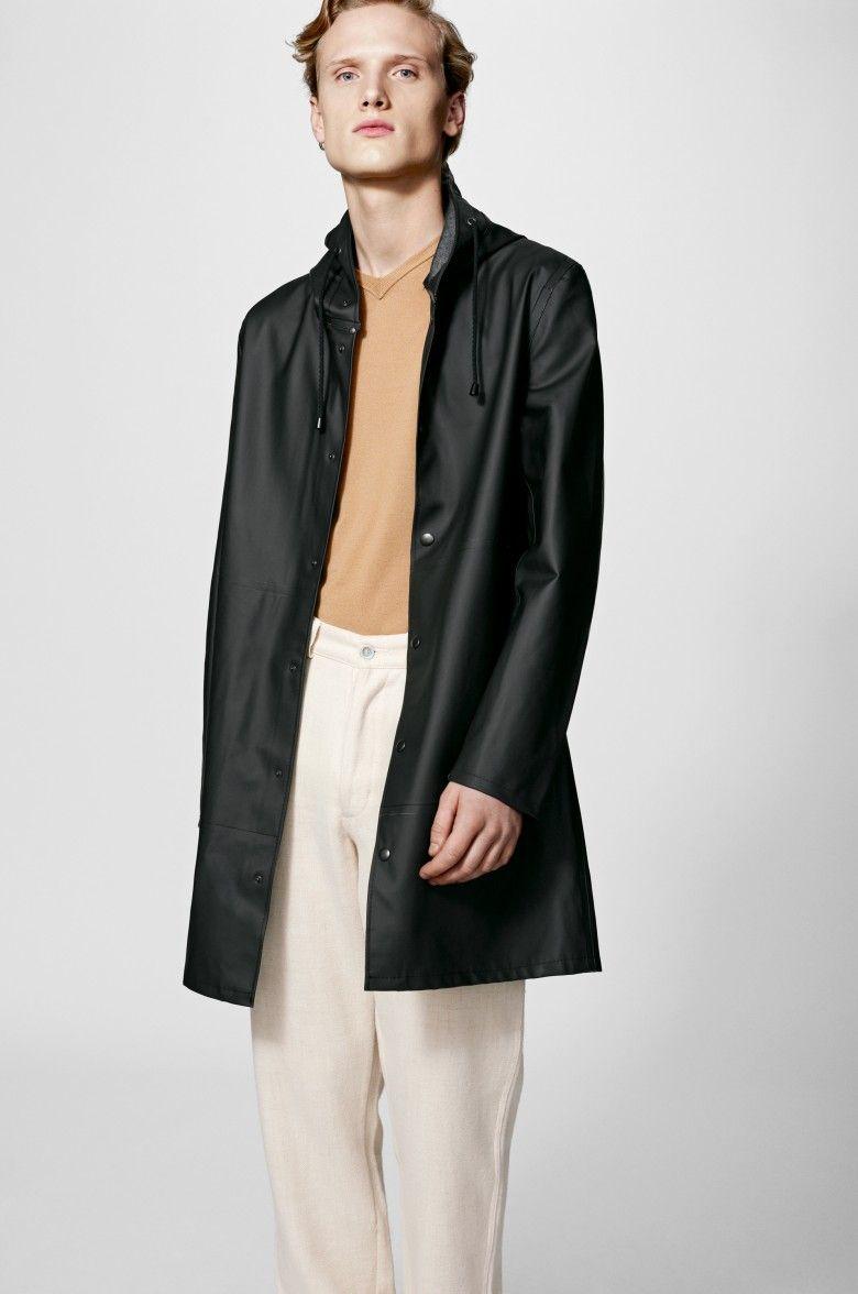 The Stutterheim Göteborg Black raincoat is our brand new men's ...