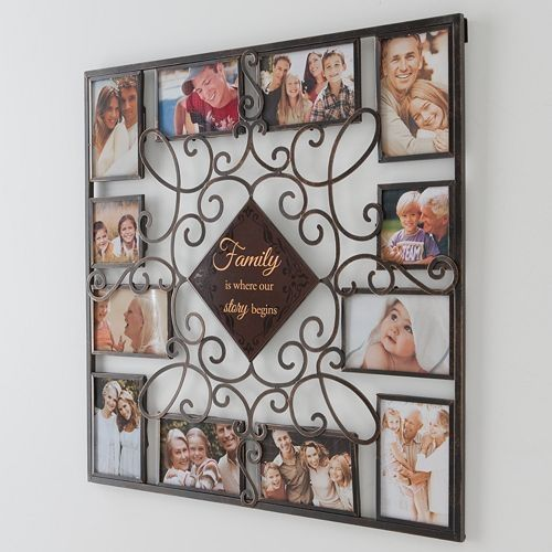Family 12 Opening Collage Frame K649 65 Large Collage Picture Frames Collage Frames Family Wall Collage