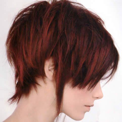 Coupe de cheveux courte sympa