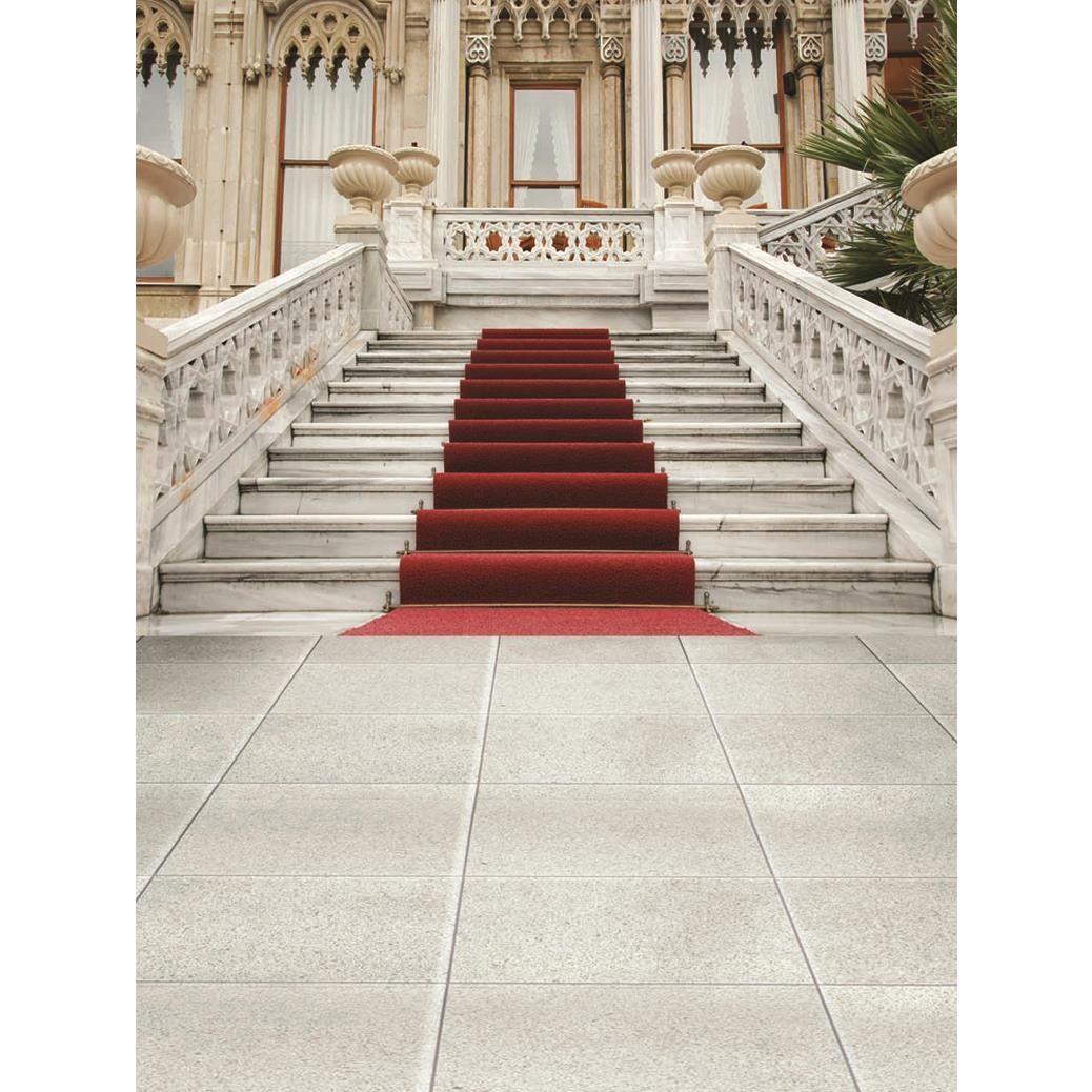 Best Allenjoy Photography Backdrop European Palace Red Carpet 400 x 300