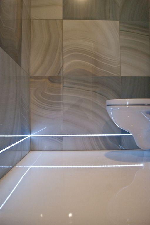 Led Lighting In Bathroom Oświetlenie Ledowe W łazience