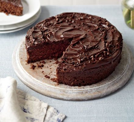 Microwave chocolate cake