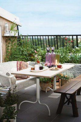 Z potrzeby piękna....piękne domy, mieszkania i aranżacje.: Balkon