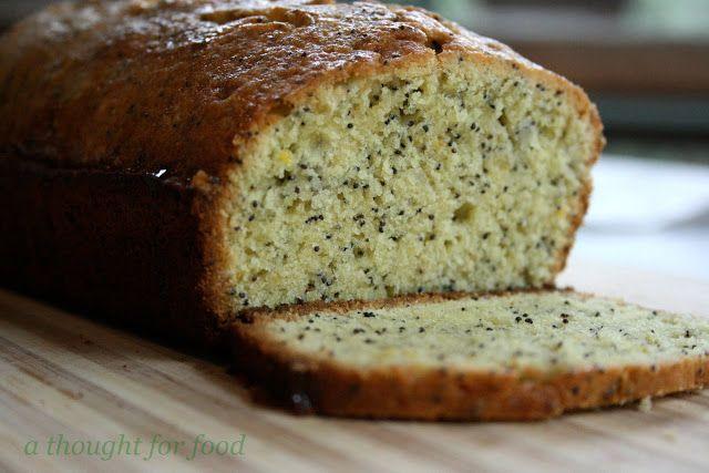 Recipe: Lemon Poppy Seed Pound Cake