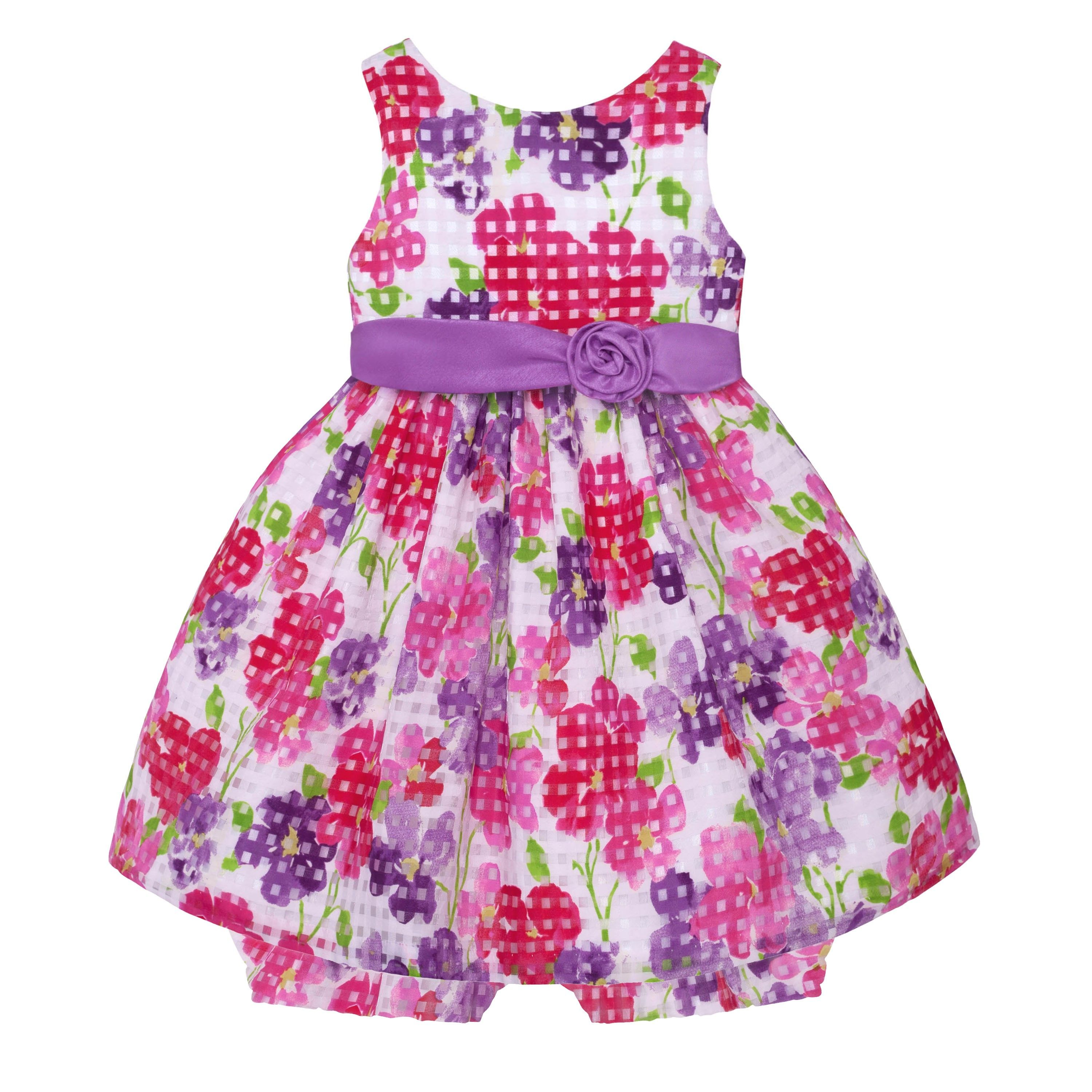 Vibrant casual dress for newborn girls @ $10.00. Shop now for your ...
