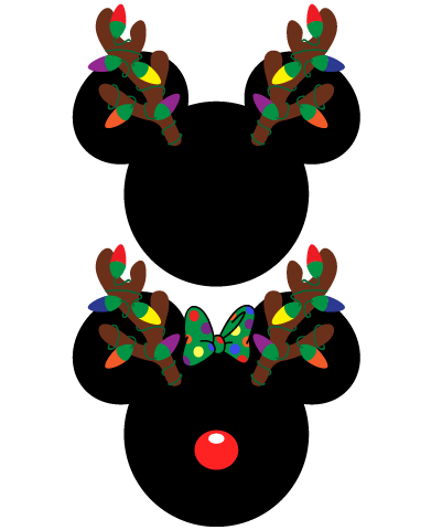 22++ Mickey mouse ears christmas clipart information
