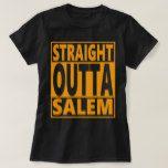 Straight Outta Salem Halloween Fanatic T-Shirt #halloween #happyhalloween #halloweenparty #halloweenmakeup #halloweencostume