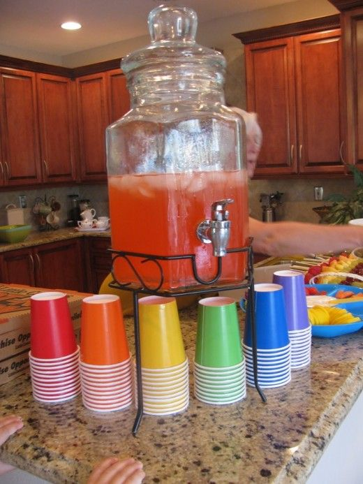 Rainbow Birthday Party Ideas 19 DIY Decor And Food