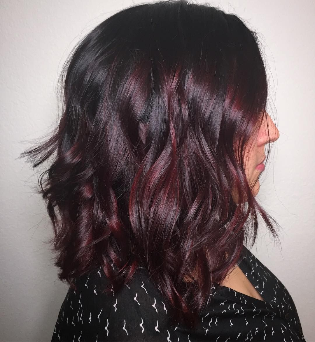 Awesome prepossessing dark red hair ideas the graceful redhead
