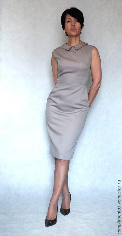 e39328a22b9 Купить или заказать Платье-футляр ЛЯ ДЕФАНС в интернет-магазине на Ярмарке  Мастеров.