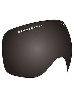 NEW Dragon DX2 Murdered Black Dark Smoke Mens Ski Snowboard Goggles Msrp$60