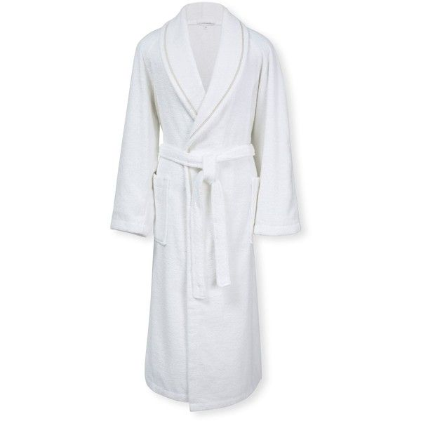 Calvin Klein Dolmite Bath Robe 205 Liked On Polyvore