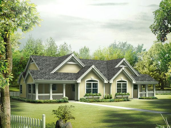 Single Story Duplex Of Springdale Manor Ranch Duplex Duplex Plans House And