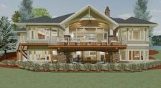 Plan 64404SC: 2 Bed Craftsman with Option for 2 More Bedrooms