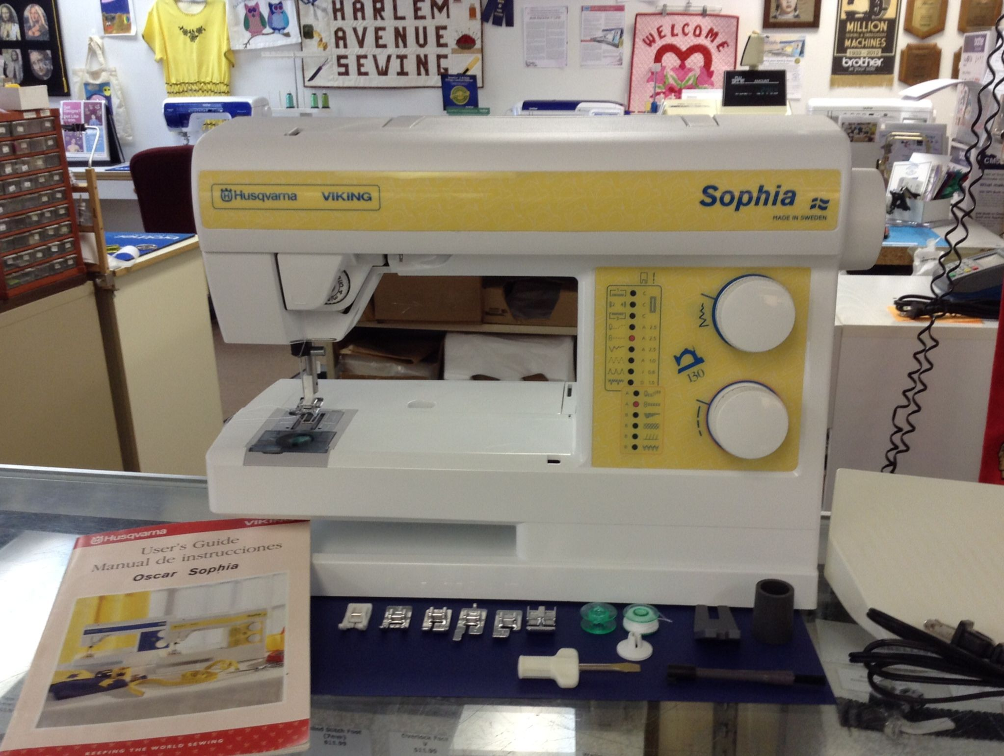 Viking Sophia Sewing Machine - made in Sweden, only $129.00