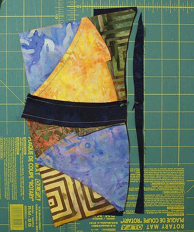 Curvy Curves: Mug Rug #16 | Quilts By Jen