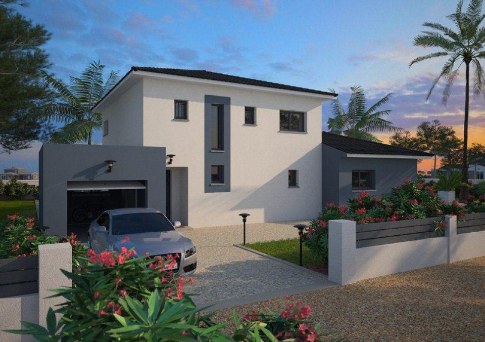 Plan maison neuve à construire - Maisons France Confort Loft 125 - modeles de maison a construire