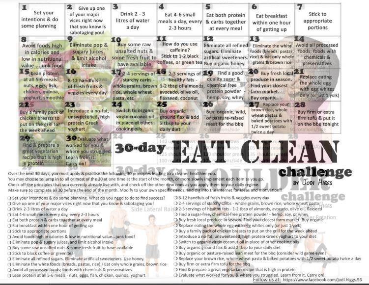 7 Rewarding 30 Day Challenges To Add To Your Bucket List