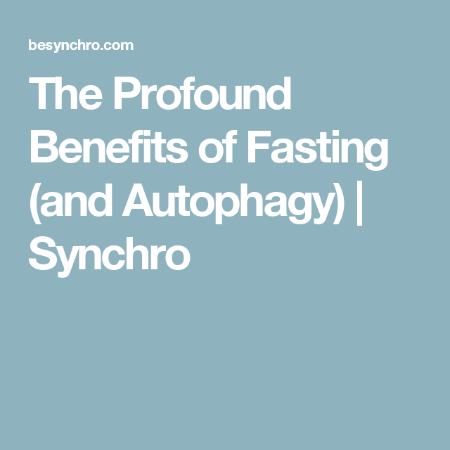 The Profound Benefits of Fasting (and Autophagy) | Ketogenic | Diet