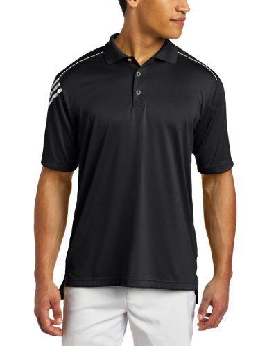 Amazon.com #Adidas #Golf Men's Climacool 3-Stripes #Polo Shirt ...