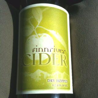 A dry hopped cider, Cascade hops, very good.