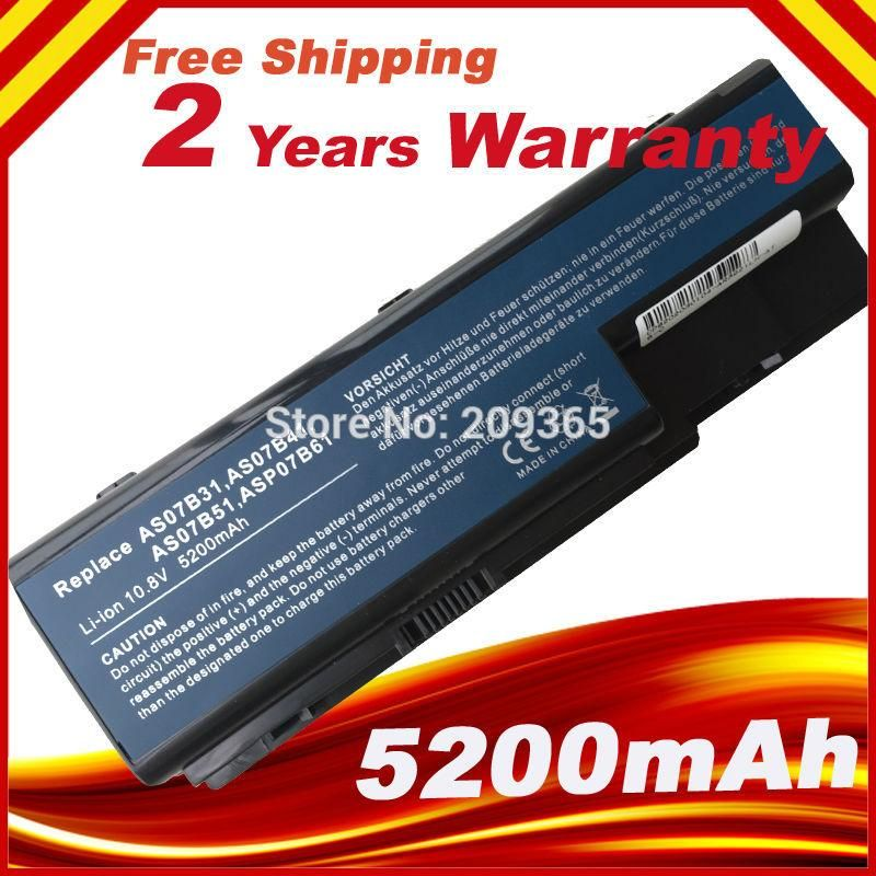 [Visit to Buy] AS07B61 Battery for Packard Bell EasyNote