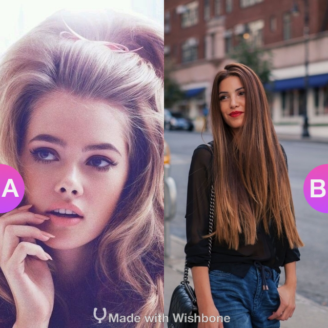 Poofy hair or flat hair?  Make yours @ http://bit.ly/Wish2