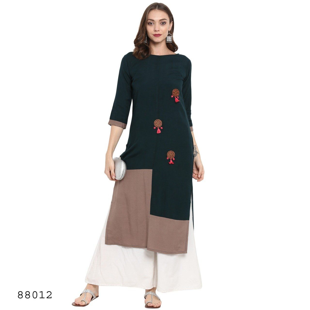 Enthralling cotton party wear kurti in products pinterest