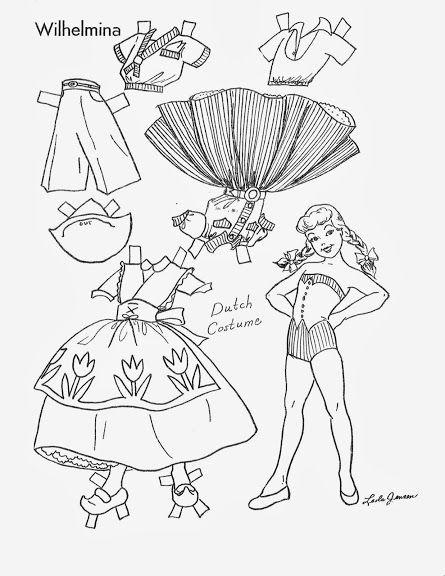 children u0026 39 s friend - costumes around the world 1959
