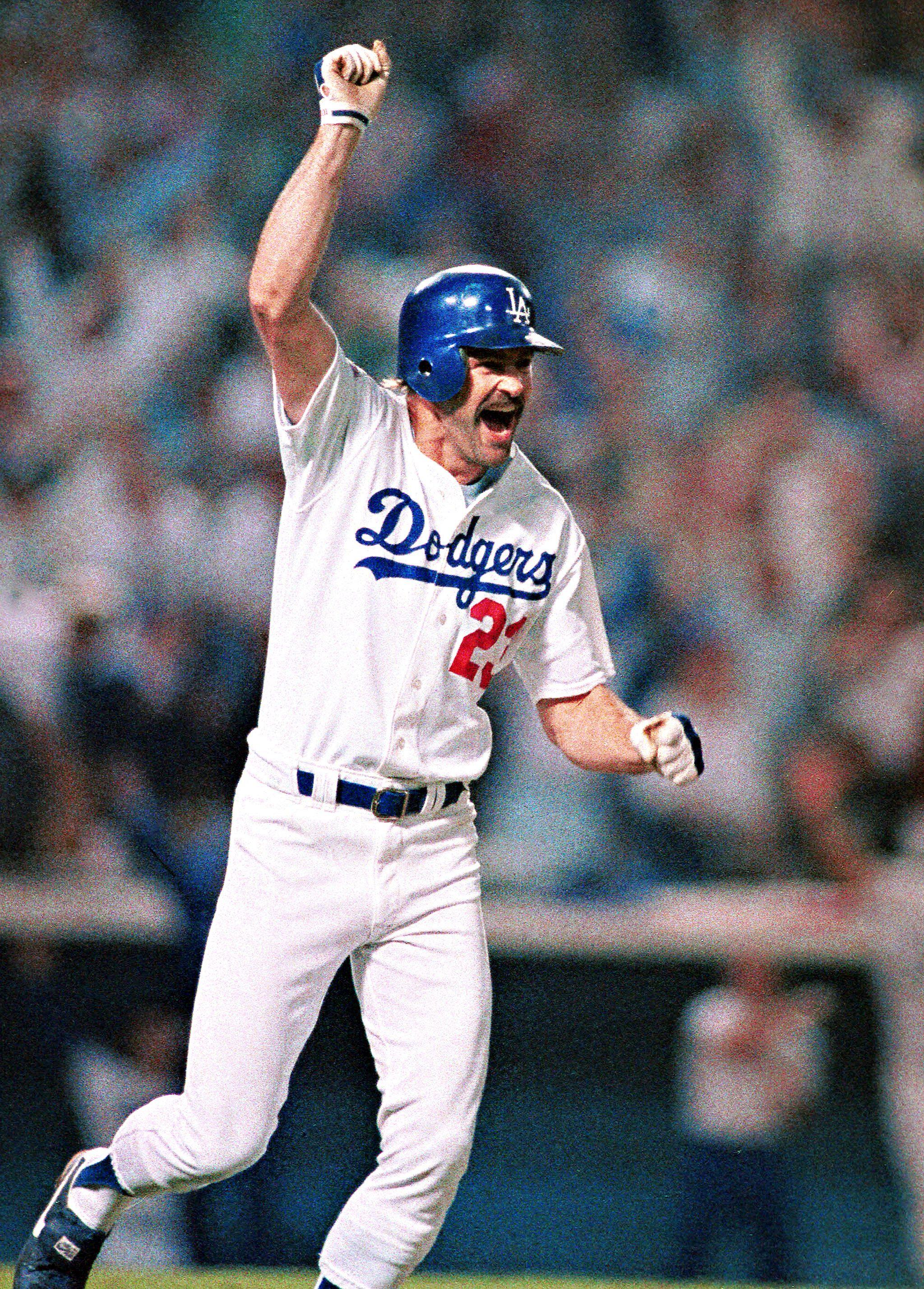 Kirk Gibson 1988 World Series. Game 1. Kirk gibson